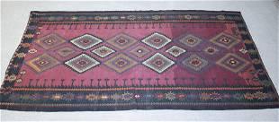 Russian wool kilim