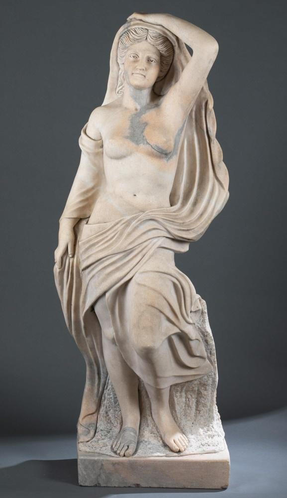 Sculpture of a Woman, Marble.