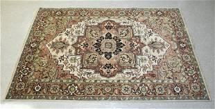 Agra Serapi wool rug