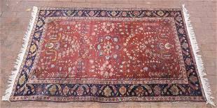 Persian Heriz wool rug