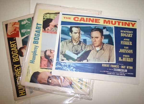 2003: Humphrey Bogart: 4 sets of 8 lobby cards.