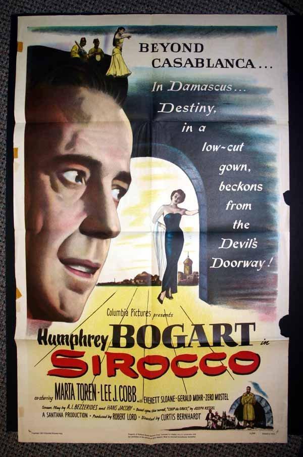 2006: Humphrey Bogart: 8 large movie posters (1951-1955