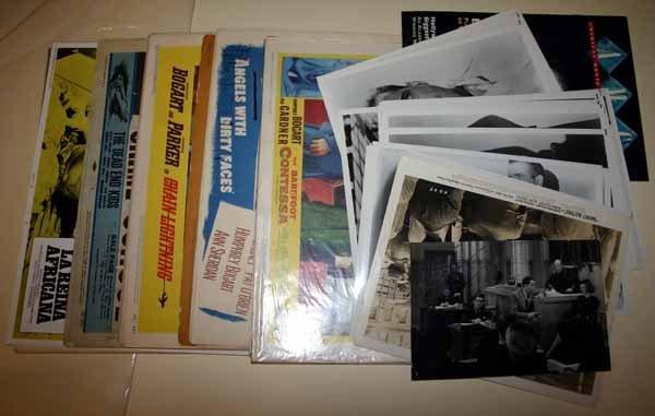 2007: Humphrey Bogart: 52 lobby cards + 45 photos.