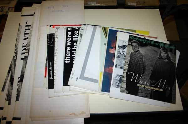 2009: Woody Allen: ~51 one-sheet posters, 11 lobby card