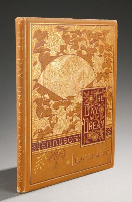 1002: Tennyson THE DAY DREAM. NY: Dutton 1886, dec clot