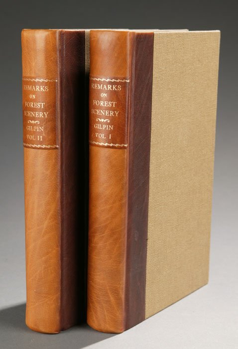 1005: Gilpin REMARKS ON FOREST SCENERY... 2 Vols, 1808.