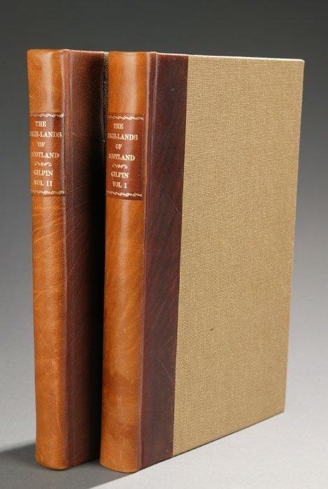 1011: Gilpins ...HIGH-LANDS OF SCOTLAND, 2 vols, 1808.