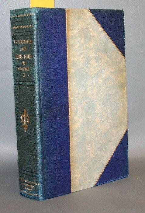 1013: LOUISIANA AND THE FAIR, 10 vols (1904-1905).