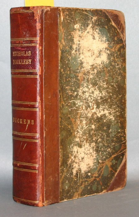 1015: Dickens, NICHOLAS NICKLEBY, 1st edition, 2d issue