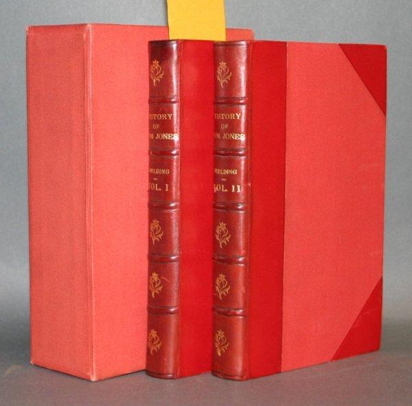 1016: Fielding THE HISTORY OF TOM JONES, Riviere bindin