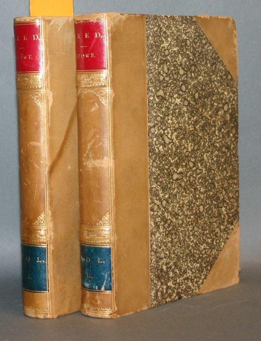 1019: Harriet Beecher Stowe, DRED, 1st British edition.