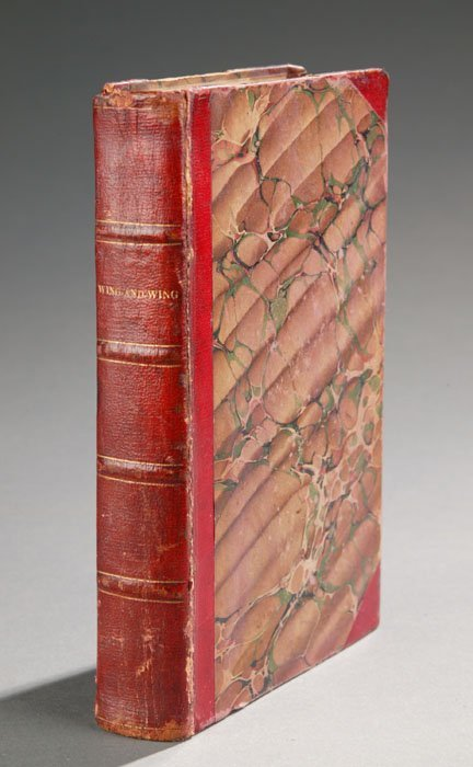 1022: James Fenimore Cooper, THE WING-AND-WING, 1842.