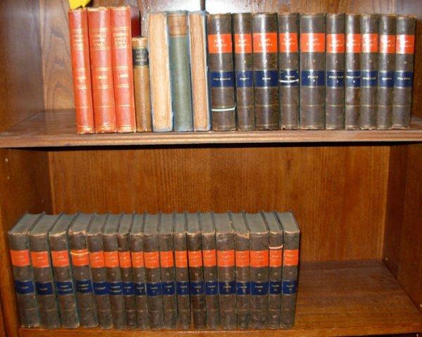 1268: German literature: Ludwig Tiecks. 3 sets, 37 vols