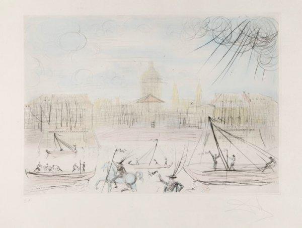 10: Dali, ''Academy of Finance,'' artist's proof.