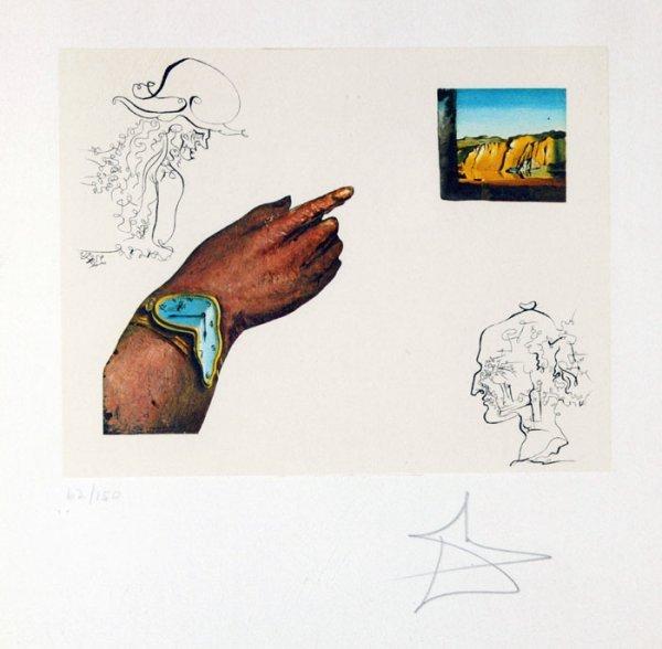 15: Salvador Dali, ''One's Identity,'' #62 of 150.