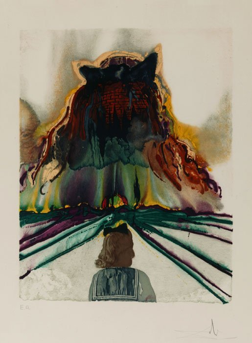 17: Dali, ''Dreams of Paradise,'' artist's proof signed