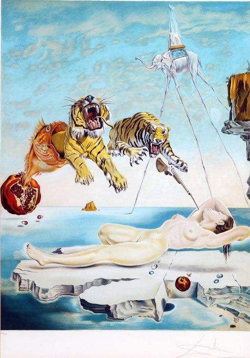 20: Salvador Dali ''Gala and the Tiger'' [1981], 226/30
