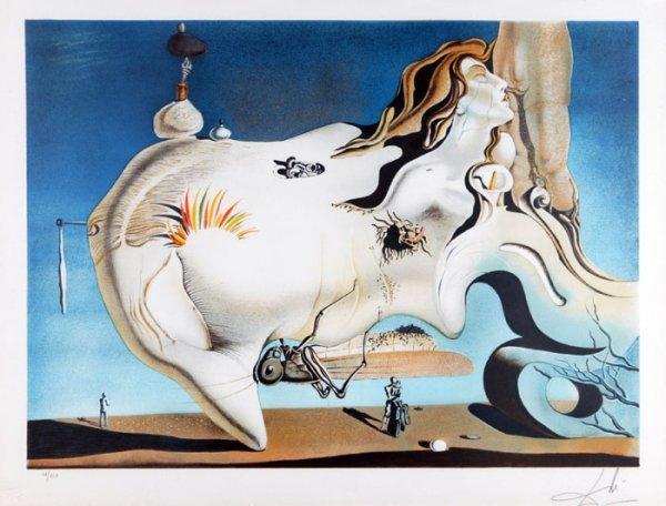 21: Salvador Dali, ''Grand Fantasy,'' #56/250.
