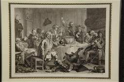Hogarth A Midnight Modern Conversation c 1732
