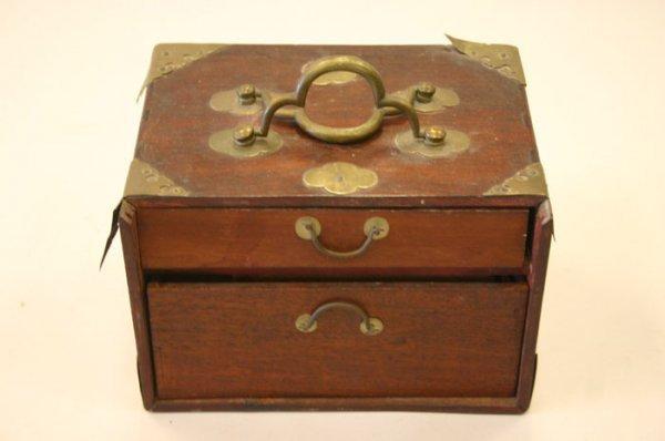 3001: Mah-Jong set in wood case