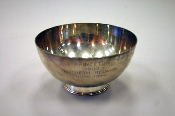 3019: Revere reproduction sterling bowl by Corneliu