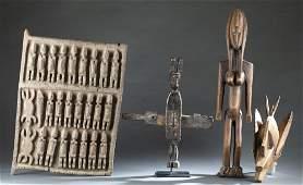 4 Malian Style Objects. 20th c.