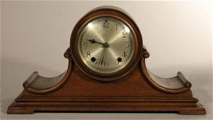 New Haven clock company tambour mantle clock