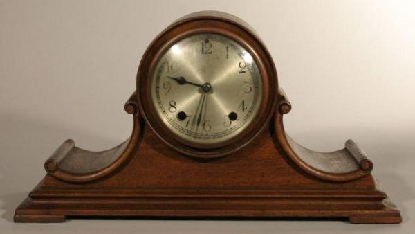 1: New Haven clock company tambour mantle clock