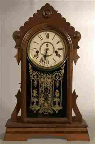 "Waterbury Clock Co. ""Gilford"" shelf clock"