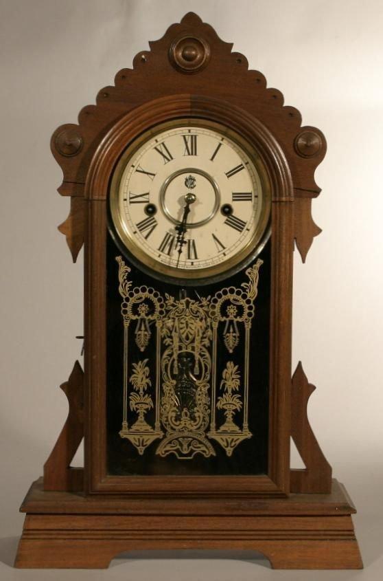 "5: Waterbury Clock Co. ""Gilford"" shelf clock"