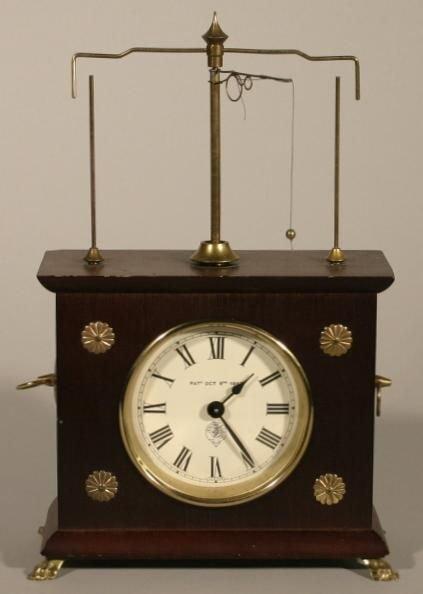 15: Ignazt flying pendulum novelty clock, by horolova