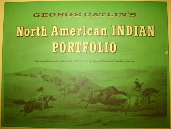 4921: 6 Collotypes: George Catlin's... Indian Portfolio