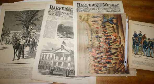 4924: Civil War: ''Harper's Weekly'' & other illustrati