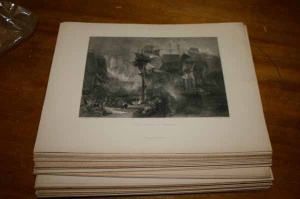 4938: ~99 engravings after Turner. Landscape, etc.