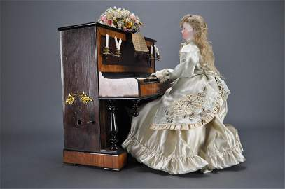 Automaton. Lady at the Piano. Vichy. Guiton.