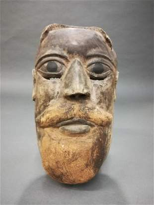 Guatemalan/Mexican Folk Mask. 20th c.