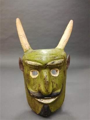 Mexican Folk Mask. 20th c.