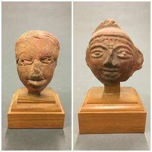 2 Ancient Near Eastern Style Terracotta Fragments.