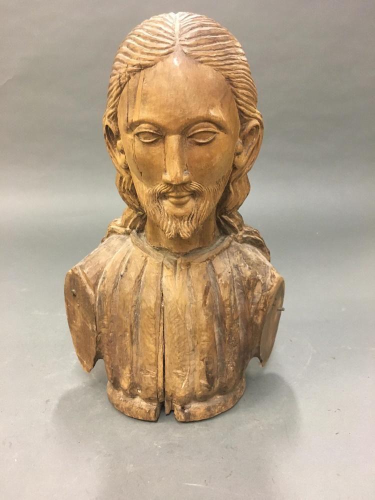 Bust of Jesus.