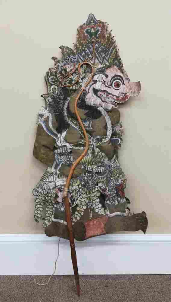 Bali Shadow Puppet. 20th c.