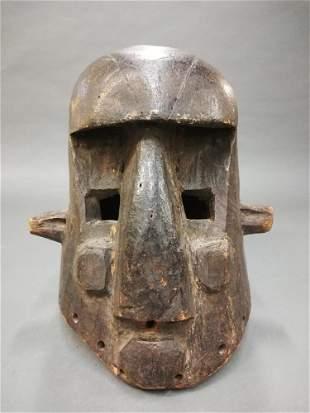 Kuba Style Helmet Mask 20th c