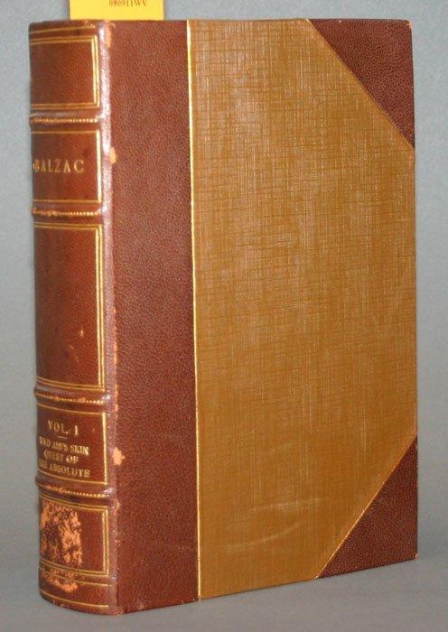1002: The Works of Honore de Balzac. NY: Bigelow 18 vol