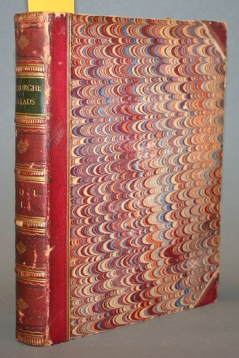 1005: THE ROXBURGHE BALLADS, 2 vols, 1873-1874.