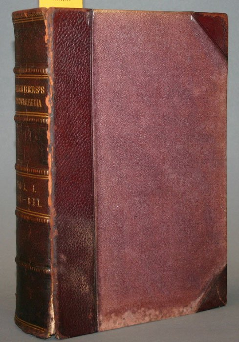 1011: CHAMBERS'S ENCYCLOPEDIA, 10 vols, 1860-1866.