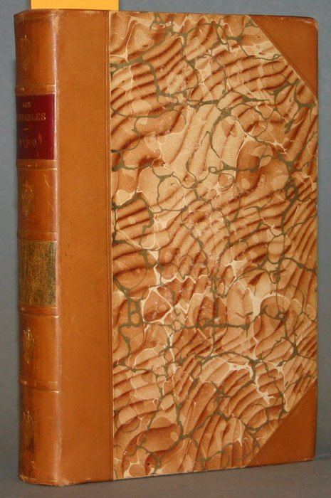 1017: Victor Hugo, LES MISERABLES, 5 vols.