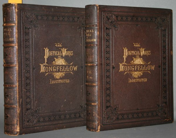 1020: Poetical Works of Henry Wadsworth Longfellow.