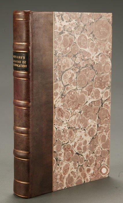 1021: John Muller, A TREATISE... FORTIFICATION..., 1782