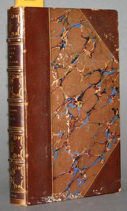 1024: THE LAST DAYS OF NAPOLEON, 2 vols, 1826.