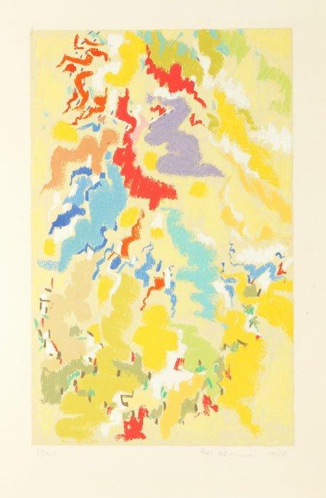 1: Max Ackermann, ''Tarantella,'' 1958, #34/100.