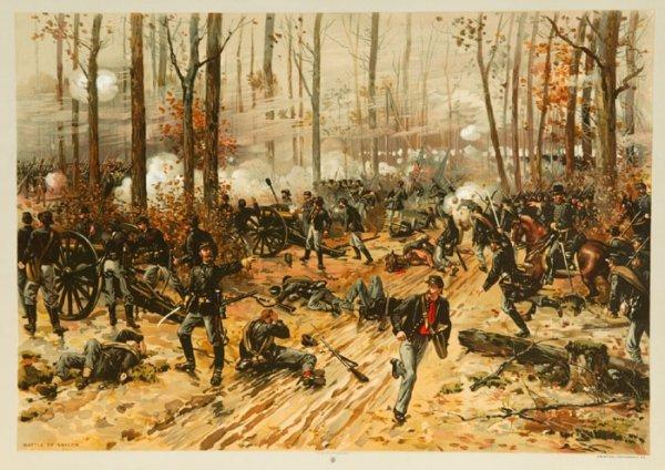 2: ''Battle of Shiloh'' (Prang, 1888), 17 copies.